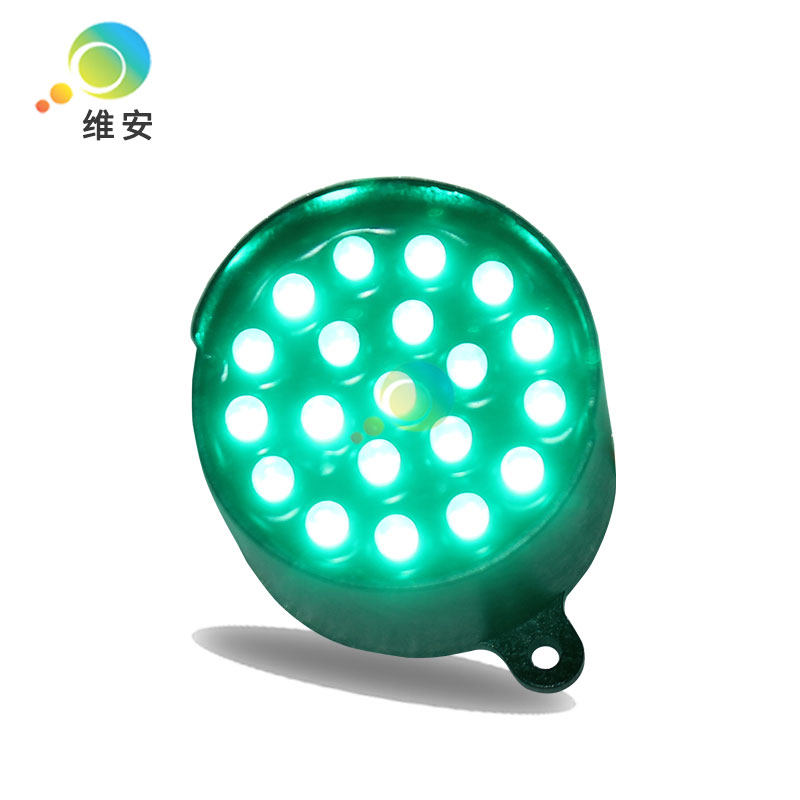 52mm Green LED Pixel Cluster DC12V Traffic Signal Light Module For Promotion