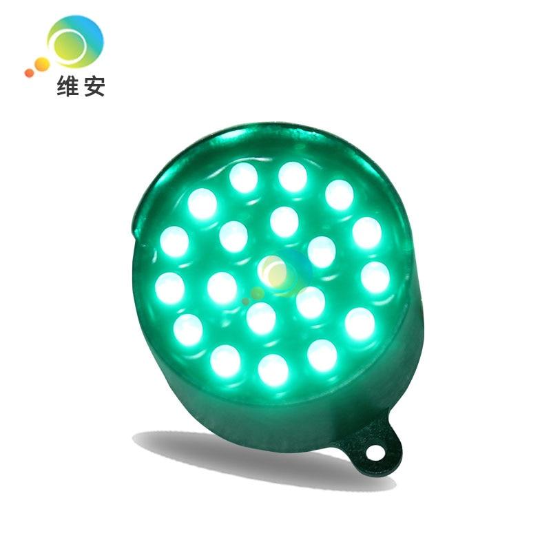 52mm Green LED Pixel Cluster DC12V Traffic Signal Light Module For Promotion