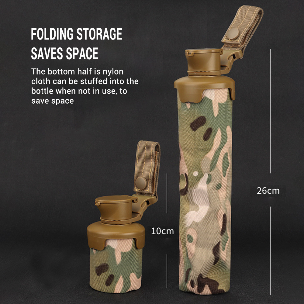 Tactical Folding BB Storage Pouch Bag 1000D Nylon Large Volume Molle System Paintball Accessories Airsoft Shooting Organizer