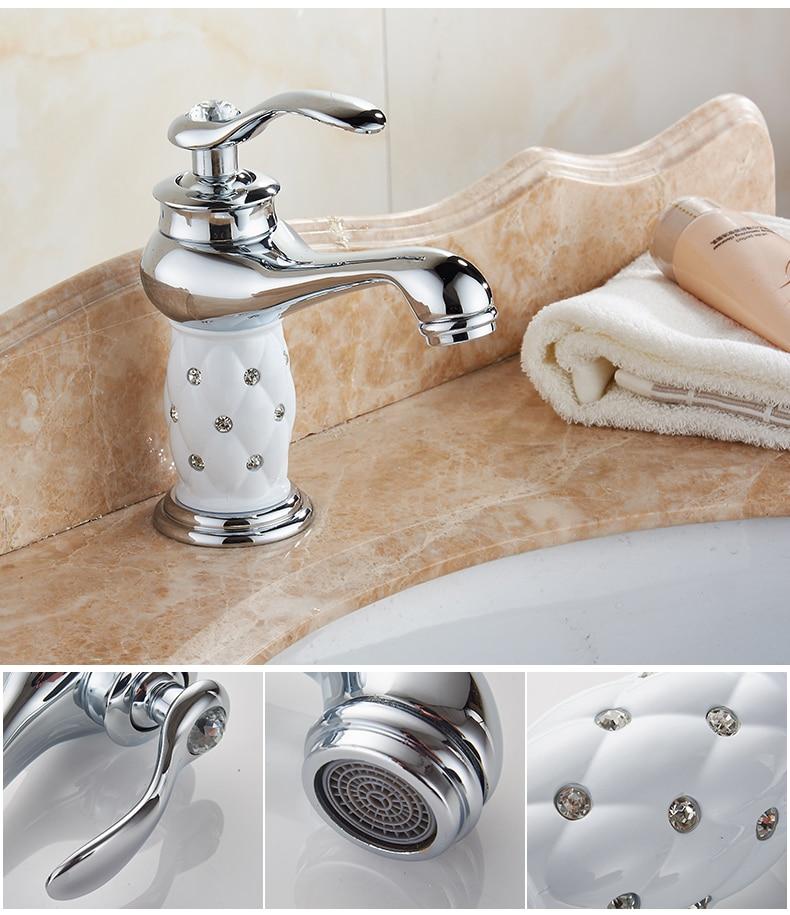H5c673b4e8d664601b5cf0a65c46aad49h MOLI Bathroom Sink Faucet Gold Basin Single handle Faucets Diamond Water Mixer Crane Hot Cold Chrome Bath Brass Mixer Tap ML201