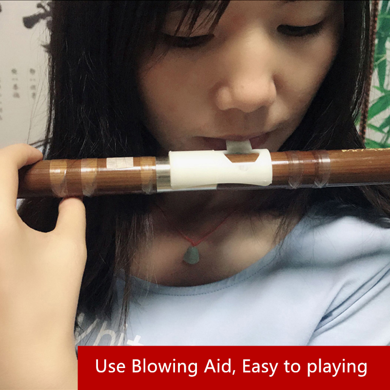 SevenAngel Flute Blower Mouthpiece Whistle For Beginner Easy To Blow Bamboo Flute Dizi Blowing Aid Helper