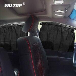 Image 1 - 2 pièces voiture rideau pare soleil fille voiture accessoires décoration maison tableau de bord suspendu pendentif Auto intérieur accessoire