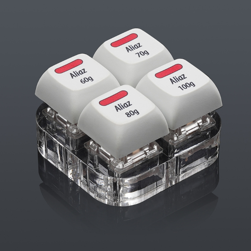 4 ключа колпачки инструмент для тестирования розовый алиаз переключатели