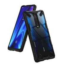 Ringke Fusion X için Xiaomi Mi 9T durumda (Mi 9T Pro) şeffaf sert PC geri yumuşak TPU çerçeve Redmi için K20 (K20 Pro) kapak