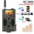 HC300m Охота фото ловушка ммс 12MP 1080P Ночное видение инфракрасная камера для отслеживания в природной среде Охотник ловушки для фотоаппаратов В...