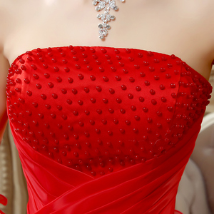 Image 5 - Ruched Strapless Quinceanera Dress With Beaded Bodice Vestido 15 Anos Vestido De Debutante