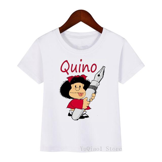 Фото 2021 летние топы для девочек футболки детская одежда забавная