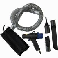 2 em 1 kit compressor de ar duster multifunções ar aspirador de pó pneumático sucção ferramentas|Aspiradores de pó| |  -