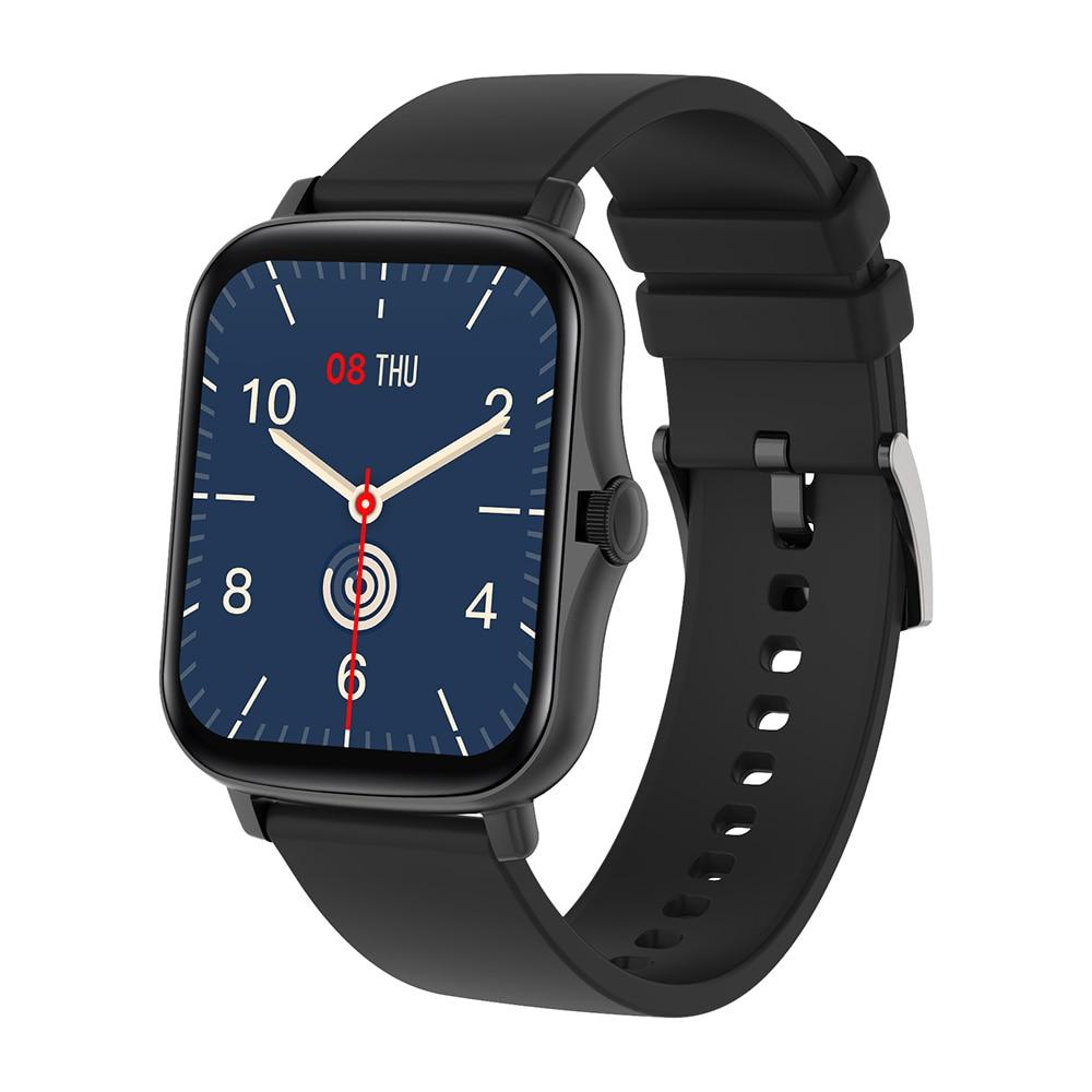 H5c681ec080844f5dbfe153ae167b9a7bU COLMI P8 Plus 1.69 inch 2021 Smart Watch Men Full Touch Fitness Tracker IP67 waterproof Women GTS 2 Smartwatch for Xiaomi phone