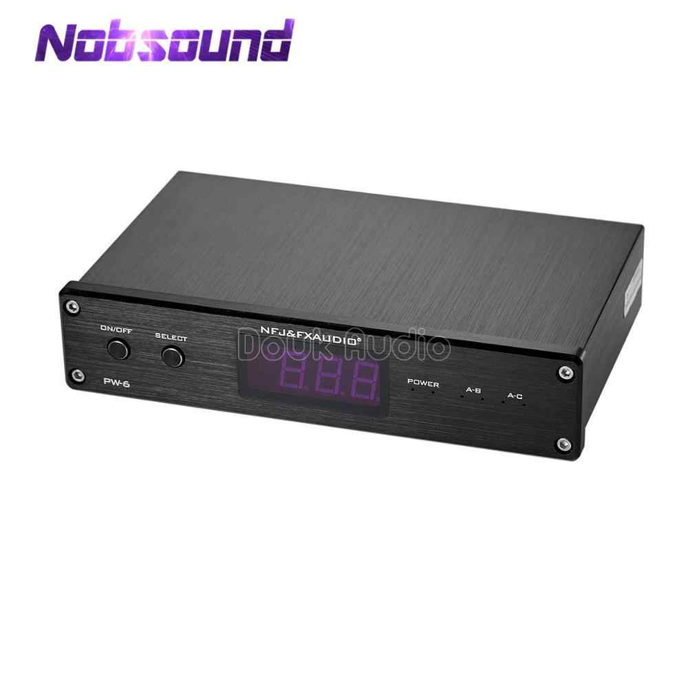 Nobsound FX-AUDIO PW-6 Audio Switcher Spiltter Selector Crossover 2-Way Speaker Amplifier Comparator