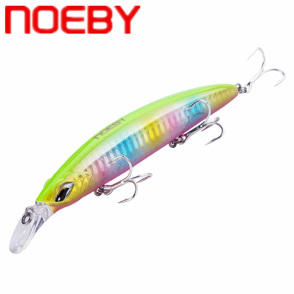 Floating Minnow 145mm 19g Wobbler Hard Baits with 3 Treble Hooks Fishing Lures