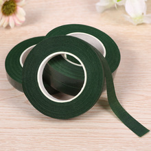 Green tape handmade artificial flower material floral accessories 30m/roll