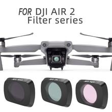 цена на Sunnylife Mavic Air 2 Lens Filter Set MCUV Adjustable CPL ND/PL Filters ND16 ND32 ND4-PL ND8-PL for DJI Mavic Air 2
