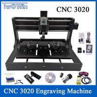 15W Upgraded DIY CNC 3020 Engraving Machine Wood Router Cutter Laser Engraver Use With GRBL Control And Offline Control