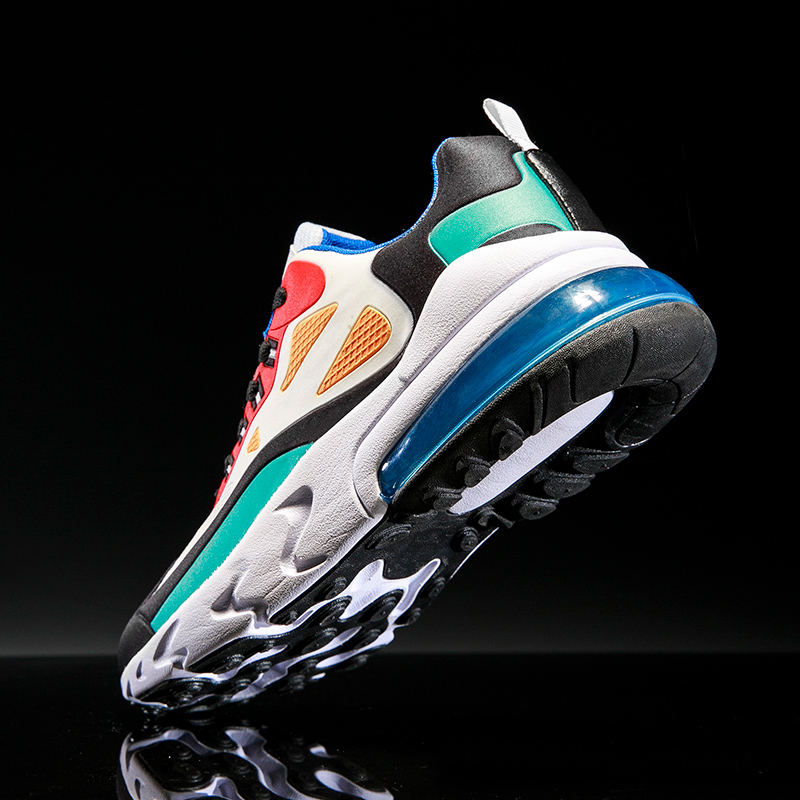 2020 Mens Casual Shoes Fashion Male Sneakers Air Cushion Breathable Sports Running Shoes PU Mesh Tenis Masculino Adulto Men Shoe 4