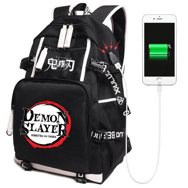 Anime Demon Slayer: Kimetsu no Yaiba School Backpack
