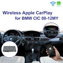 Joyeauto אלחוטי Apple Carplay עבור BMW CIC 6.5 8.8 10.25 אינץ 1 3 5 6 7 סדרת X1 X3 X5 x6 Z4 2009 2013 אנדרואיד רכב אוטומטי לשחק