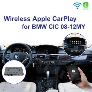 Image 1 - Joyeauto اللاسلكية أبل Carplay ل BMW CIC 6.5 8.8 10.25 بوصة 1 3 5 6 7 سلسلة X1 X3 X5 X6 Z4 2009 2013 الروبوت السيارات سيارة اللعب