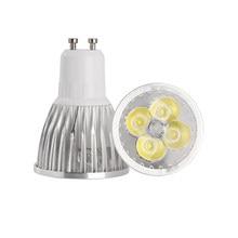 10x Cree GU10 led 9W 12W 15W gu 10 cob led lamp Led Spotlight AC85-265V CE/RoHS Warm/Cool White,Free Shipping