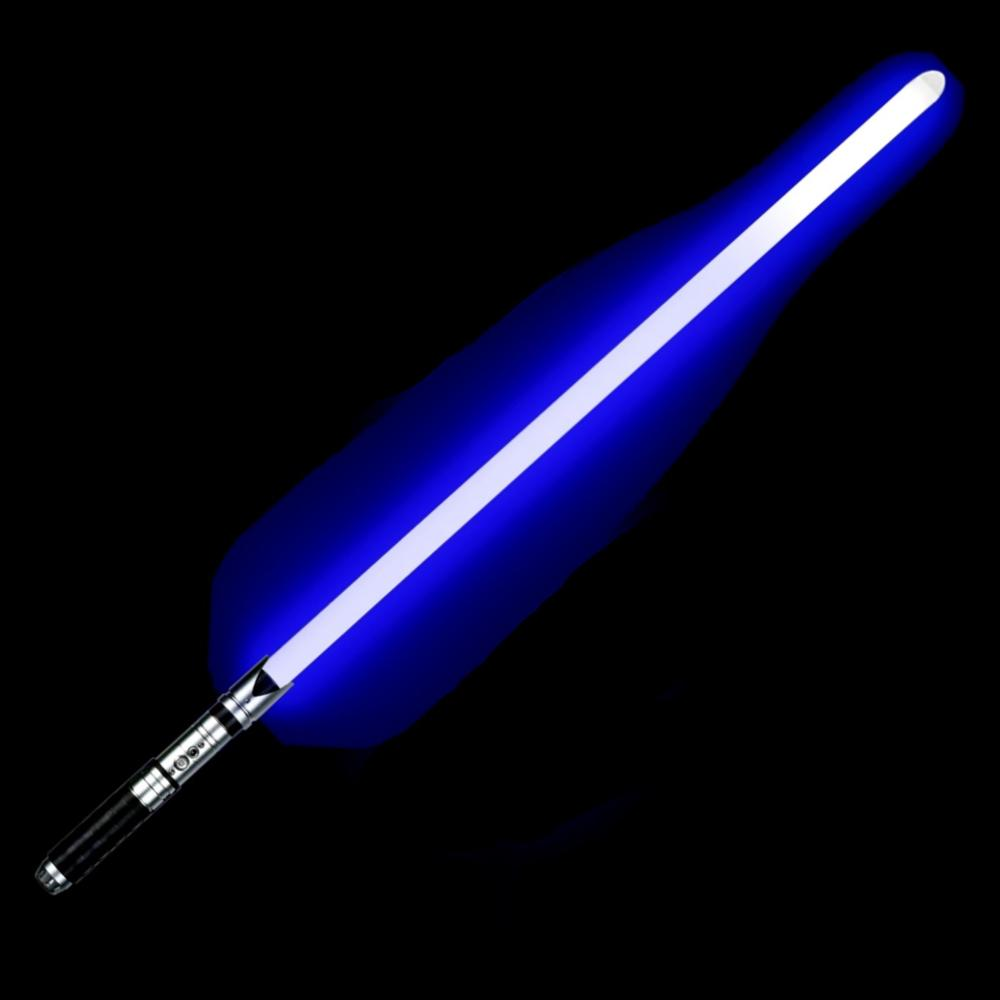 LGTOY Flashing Led Lightsaber Luke Star Jedi Cosplay Skywalker Light Saber With Voice Vader Sword Discoloration Metal Hilt