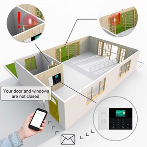 Image 3 - GauTone WIFI+GSM GPRS APP Remote Control Home/Office/Factory Wireless Burglar Security Alarm System For Android and iOS