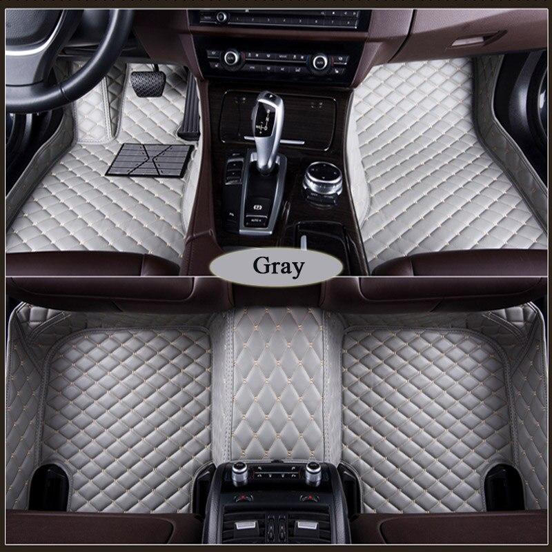 Tapis de sol de voiture sur mesure pour suzuki grand vitara sx4 2007-2017 jimny swift ignis wagonr tapis imperméable à l'eau pour voiture tapis antidérapant