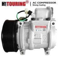 Compressor de ar condicionado 10pa15c para caminhões mercedes atego a5412301111 a6161301015 a0002301511 a0002340811 a0031318901 ac compressor 10pa15c compressor car ac compressor -