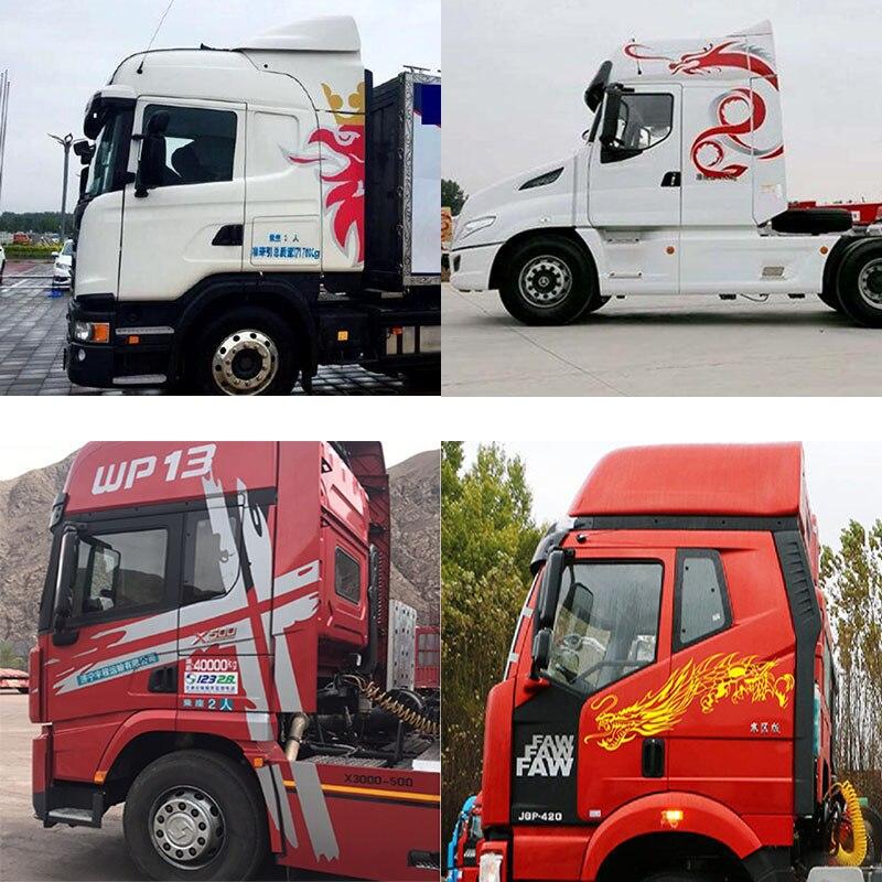 Big Truck Sticker For H7 Auman GTL Big Truck Scania Front Sticker