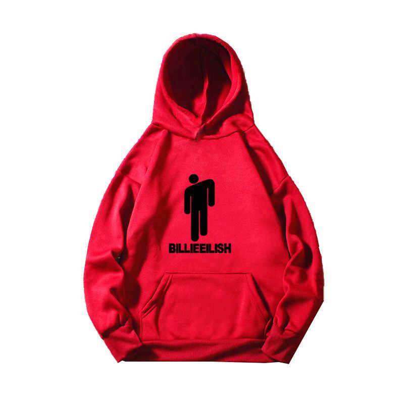 Billie Eilish Hoodies Mannen/Vrouwen Grappig Hip Hop Mode Kawaii Sweatshirt Grafische Harajuku 90 S Tumblr Hooded Streetwear Mannelijke