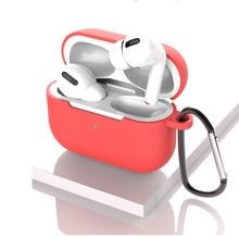 Силиконовый чехол для airpods pro беспроводной с bluetooth apple