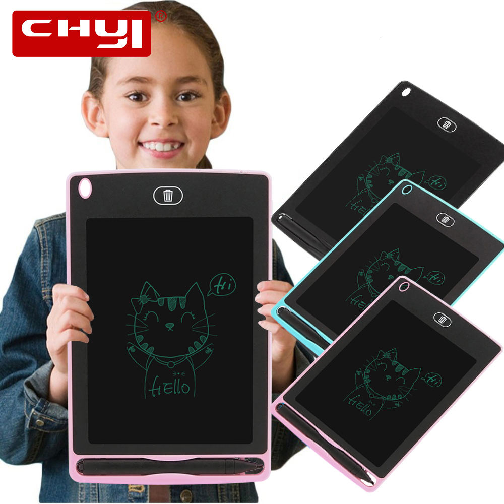 Pink//Blue LCD Tablet Erasable Board Electronic Smart Painting Board Portable Monochrome Childrens Graffiti Board Childrens Gift