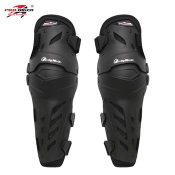 Pro BIKER Motocross ochrona na kolana Moto Bike Downhill ochraniacz jazda motocyklem ochraniacze na kolana tanie i dobre opinie Pro-biker HX-P22