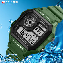 G style Men Sports Watches Fashion Chronos Countdown Men's Waterproof LED Digital Watch Man Military Clock Relogio Masculino(China)