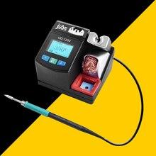 Jabe Station de soudage UD 1200 de précision, sans plomb, chauffage rapide intelligent 2.5S avec alimentation électrique à double canal