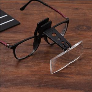1.5X 2.5X 3X Trojan horse type clip glasses magnifier for experimental inspection surgical repair Magnifying Glass|Magnifiers| |  -