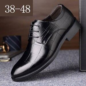 Mazefeng Men Leather Formal Sh
