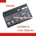 Genuino W370BAT-8 (SIMPLO) 6-87-W37SS-427 W350ET Batteria per Clevo W370ET W350ST W350ETQ W370SK K590S K650C K750S W35XSS-370SS