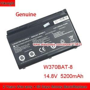 Image 1 - אמיתי W370BAT 8 (SIMPLO) 6 87 W37SS 427 W350ET סוללה עבור Clevo W370ET W350ST W350ETQ W370SK K590S K650C K750S W35XSS 370SS