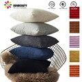 26 sty Бархатный Чехол для подушки  чехол для подушки  Одноцветный чехол для подушки Cojines  декор для дивана  подушки для комнаты  декоративная н...