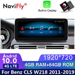 4G LTE Android 10 Car dvd radio GPS Navigation For Mercedes Benz CLS Class W218 2011 2012 2013 2014 2015 2016 2017 2018 WIFI gps