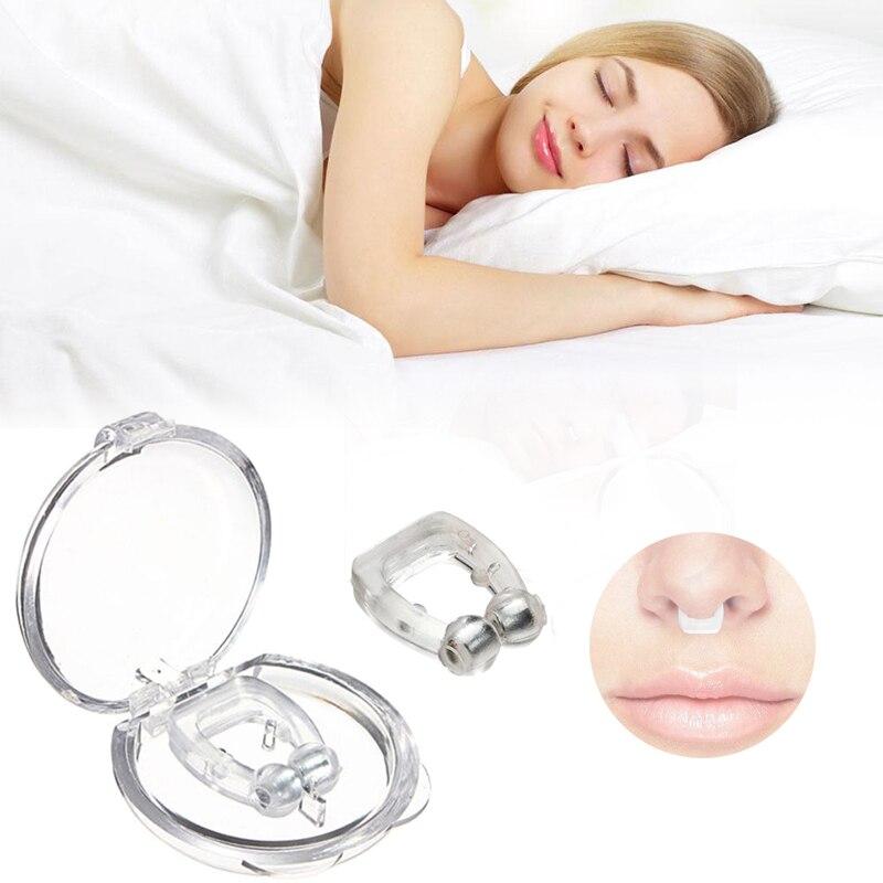 Мини-устройство против храпа и храпа, силиконовый зажим для носа, защита от шума и сна, дропшоппинг, Популярные