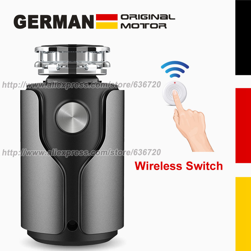 New in 2020 Food Waste Disposer German 1200W motor Technology septic assist 1 HP Household garbage disposer