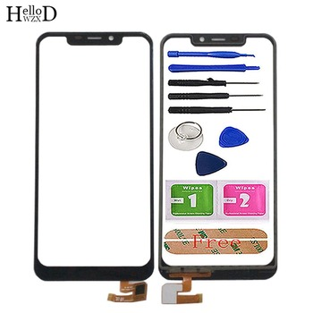 Touch Screen For Oukitel C12 Touch Glass Digitizer Panel Sensor For Oukitel C12 Pro TouchScreen Mobile Tools Adhesive