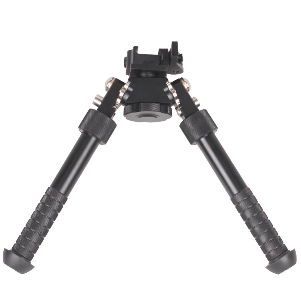 Tactical Support Bipod Outdoor Tripod Adjustable  Joint Camera Converter 20mm Weaver Picatinny  Adapter Accessories
