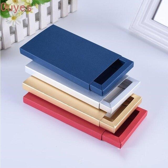 20pcs 전화 케이스 포장 상자 서랍 종이 골 판지 상자 매트 슬리브 선물 상자 보석 디스플레이 상자