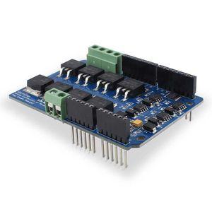 Image 2 - Motor de puente en H de doble canal Elecrow, controlador de Shield V1.5, IRF3205S, Motor de CC MOSFET 8A 22V Kit DIY electrónico