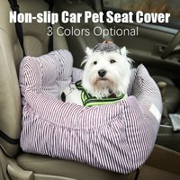 Universal Pet Dog Car Seat Booster Travel Safety Mat Waterproof Travelling Pet Seat Soft Warm kennel Pillow With Storage Pocket