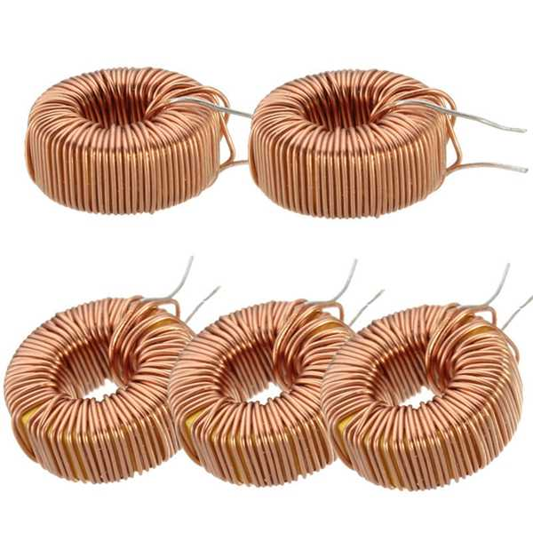 330UH 3A Toroid Core Inductors Wire Wind Wound Coil 0.5mm  Wire Diameter For DIY