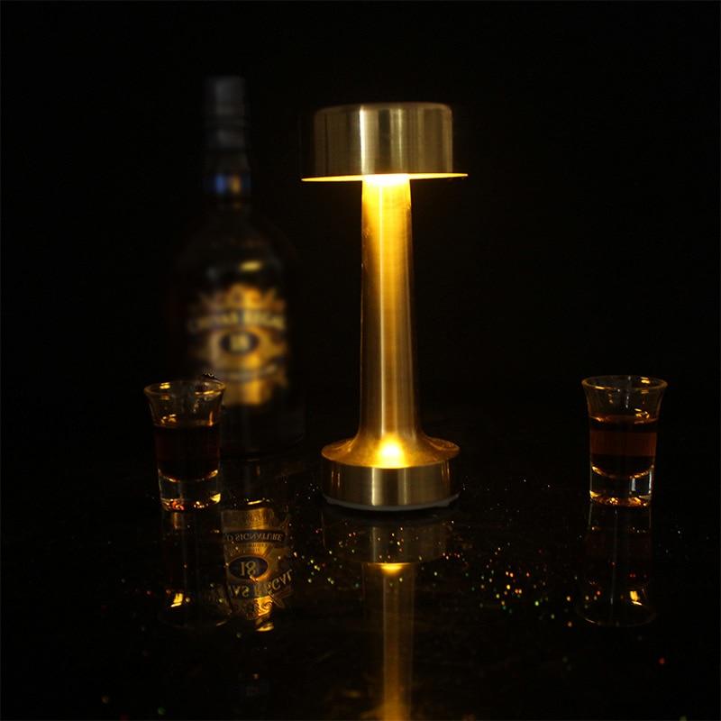 Сенсорный экран Сенсор светодиодный настольная лампа бар лампа настольная лампа платные золотые настольные лампы для ресторана Кофе магазин лампы настольная лампа ночник|Настольные лампы| | АлиЭкспресс