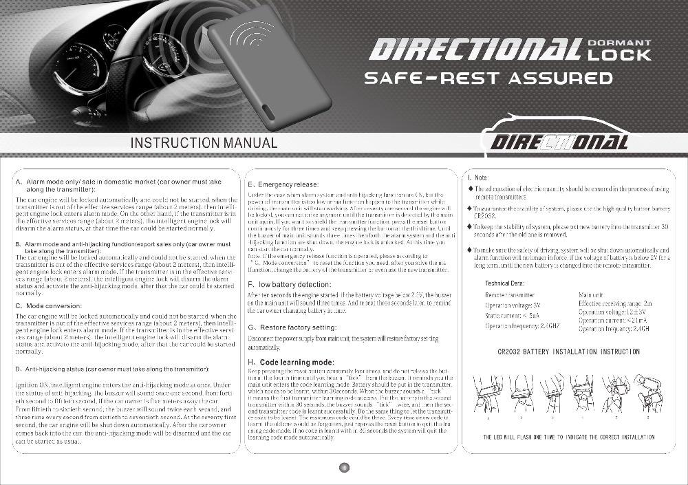 user's manual 1